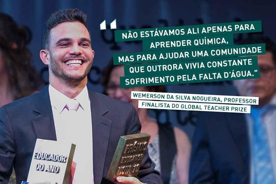 Conheça o projeto de professor finalista do Global Teacher Prize
