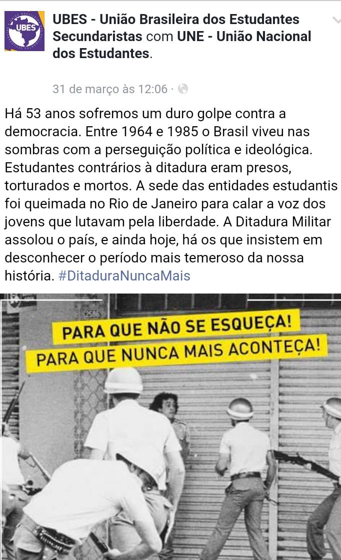 ditadura fb