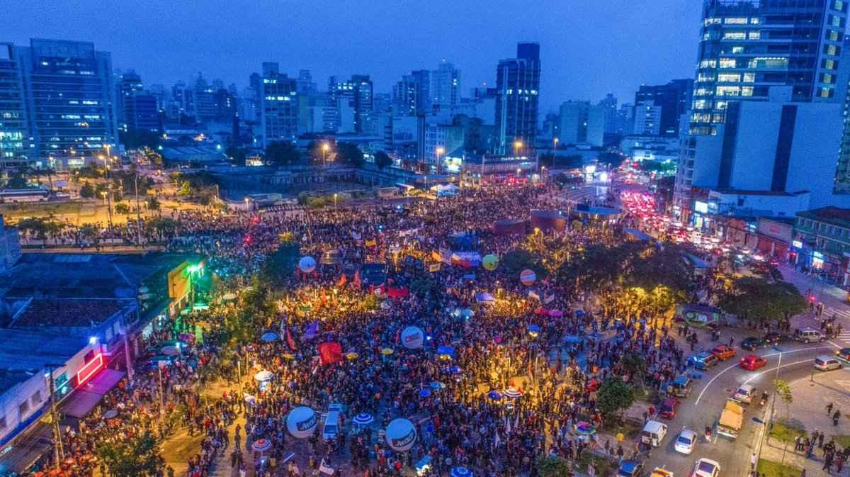sao paulo frente brasil popular