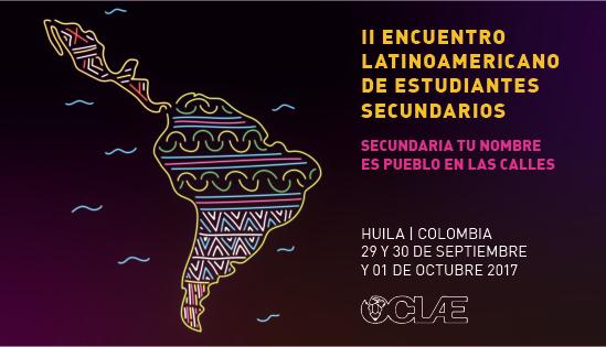 Secundaristas do continente se encontram na Colômbia