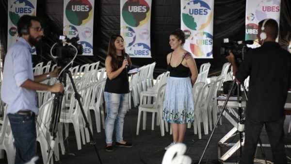 Congresso da UBES teve 13 horas de transmissão ao vivo