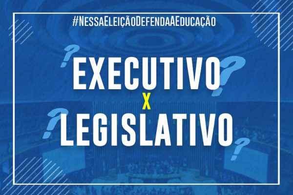 Qual a diferença do poder Executivo e do Legislativo?