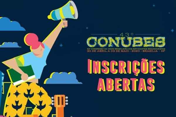 Estão abertas as inscrições para o 43° CONUBES!