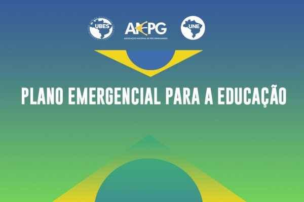 Entidades estudantis lançam Plano Emergencial para a Educação