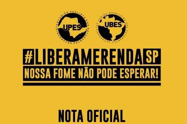 Nossa fome não pode esperar! #LiberaMerendaSP