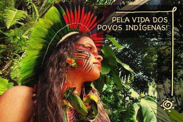 """""""Sem álcool em gel, máscaras e estudo"""". Estudantes indígenas contam dificuldades na pandemia"""