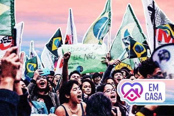 Passo a passo pra resistência estudantil não parar nem em casa