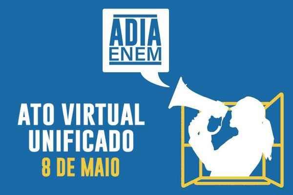 #ForaBolsonaro: UBES vai participar do ato virtual nesta sexta (8)