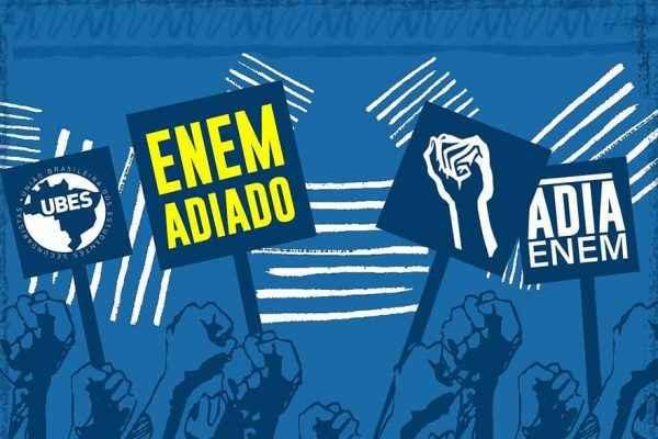 #AdiaEnem: Estudantes comemoram vitória pelo adiamento, mas a luta continua