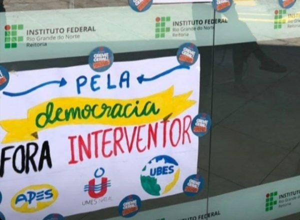 NOTA: Em repúdio à agressão policial contra estudantes do IFRN