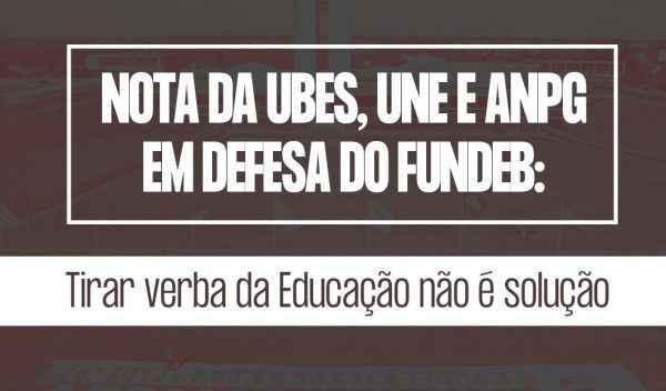 Nota: Tirar dinheiro da Educação não é solução