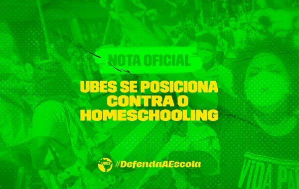 Nota oficial: UBES se posiciona contra o homeschooling